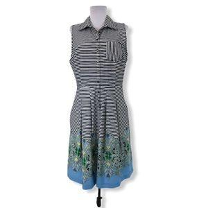 Tommy Hilfiger Large Dress Striped Paisley Pockets